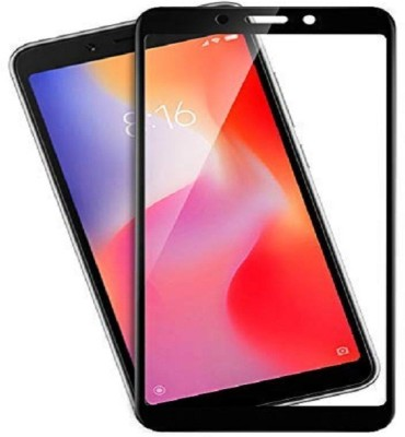 Xunwo Edge To Edge Tempered Glass for Mi Redmi 6A(Pack of 1)