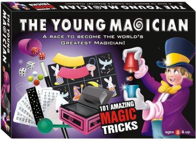 Toyzwonder The Young Magician 101 Amazing Magic Tricks For Kids 101 Magic Tricks(Age: 5 years)