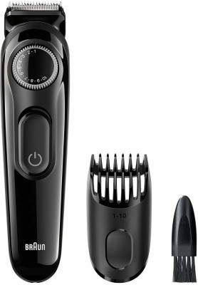 Braun BT3020  Runtime: 30 min Trimmer for Men  (Black)
