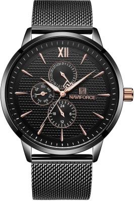 Upto60%Off+Extra5%Off Naviforce, Curren & more Premium Watches