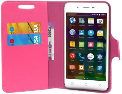 CHAMBU Flip Cover for Coolpad Ivvi K1 Mini(Pink, Hard Case)