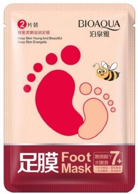 BIOAQUA Peel Exfoliating Foot Mask(10 ml, Set of 1)