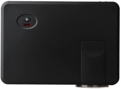 Mezire ™800 Lumens RD-805 Mini LED TV Smart Lcd Video Home Theater 1080P Movie Cinema Digital Media Player 20000/30000 Hours 5 Inch Black Portable Projector( Black) Portable Projector(Black)