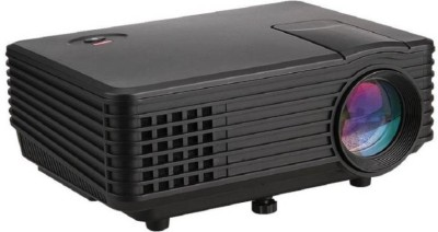 Mezire ™Portable 800 lumens with USB/VGA/AV/HDMI Portable Projector( Black) Portable Projector(Black)