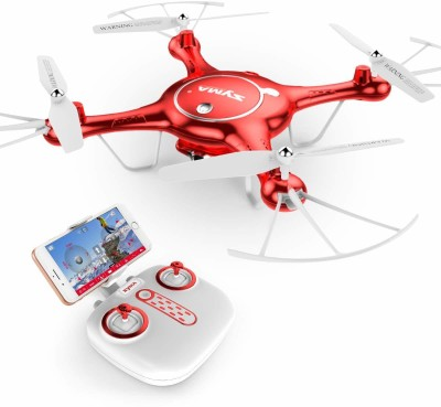 xunda X5UW 720P WIFI FPV With 2MP HD Camera syma With Altitude Mode(Red) at flipkart