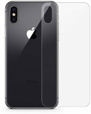 KHR Back Screen Guard for Apple iphone XS HD clear & Flexible Scratch proof Ultra Thin screen protector (Free Kit)(Pack of 1)