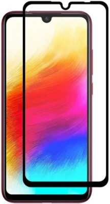 9H Edge To Edge Tempered Glass for Xiaomi Redmi Note 6 Pro (6D Full Glue Tempered Glass)(Pack of 1)
