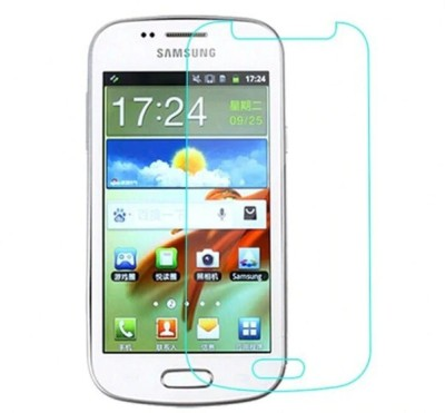 GizmoChum Tempered Glass Guard for Samsung Galaxy S Duos(Pack of 1)