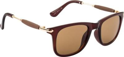 Deixels Rectangular Sunglasses(Brown)