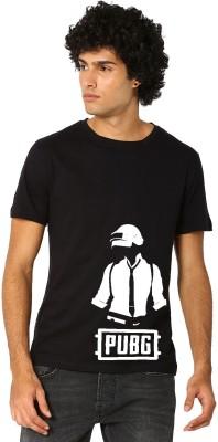 Bewakoof Store Printed Men Round Neck Black T-Shirt
