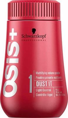 Schwarzkopf Professional Osis+ Dust It Mattifying Volume Powder Fixer Hair Cream(10 g)