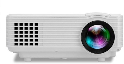 Mezire ™RD805 Portable Mini LED LCD Projector Portable Projector  (White, Black) Portable Projector(Multicolor)