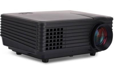 Mezire ™RD805 Portable Mini LED LCD Projector Portable Projector( Black) Portable Projector(Black)