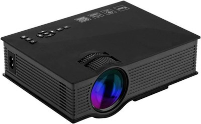Mezire New UC46 1200 lm LED Corded Portable Projector  (Black) Portable Projector(Black)