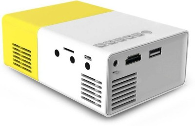 Mezire ™ LED Mini Portable Home Cinema Theater USB SD HDMI Input 400 lm LCD Corded Mobiles Portable Projector(Multicolor) Portable Projector(Multicolor)