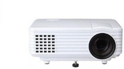 Mezire ™800 Lumens 800* 480 Resolution Led With Hdmi / Av/tv/ Vga /Usb Home Cinema Portable Projector(White, Black) Portable Projector(Multicolor)
