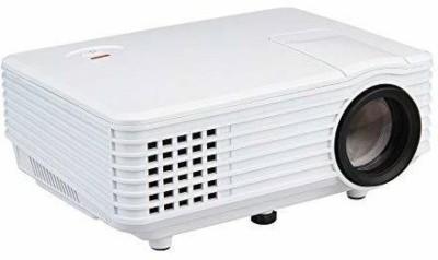 Zeom ™800 Lumens RD-805 Mini LED TV HDMI Multimedia Smart Lcd Video Home Theater 1080P Movie Cinema Digital Media Player 640*480 Support 100W 20000 Hours 5 Inch Black Portable Projector(White, Black) Portable Projector(White)