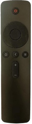 LipiWorld 4A LCD LED Smart TV Remote Control Compatible for Smart TV 4A Mi LED MI Remote Controller(Black)