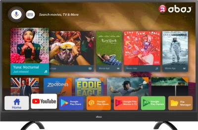 View Abaj Royal 109cm (43 inch) Ultra HD (4K) LED Smart TV(LEDAB43USECF)  Price Online