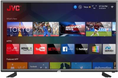 View JVC Intelligent Smart 101cm (40 inch) Full HD LED Smart TV(40N5105C)  Price Online