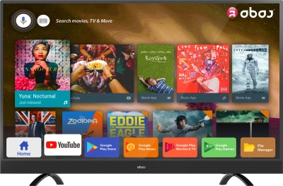 View Abaj Royal 124cm (49 inch) Ultra HD (4K) LED Smart TV(LEDAB49USECF)  Price Online