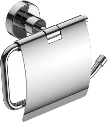 Amity Sogo Stainless Steel Toilet Paper Holder(Lid Included)