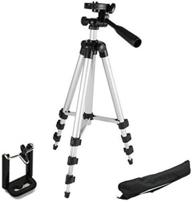ROAR NNW_444N_3110 Camera Tripod smart phones compatiable Portable tripod with bluetooth remote||360 degree tripod|| Foldable triopod|| Camera stand|| Mobile Tripod|| Camcorder tripod|| Camera mount|| Extendable tripod||Three-Dimensional Head & Quick Release Plate|| Compatible with android & IOS sma 1
