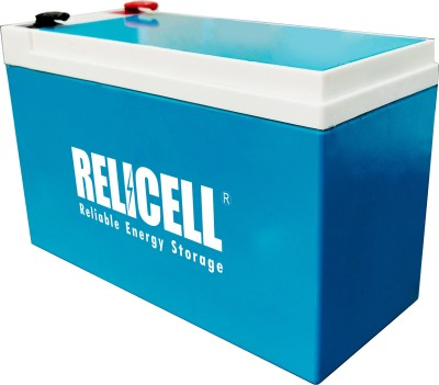 Relicell 12V, 9Ah Battery (SMF) for UPS