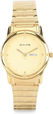 SONATA NN7023YM09 Classic Analog Watch - For Men