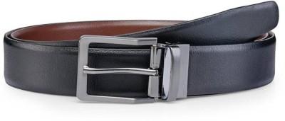 Alton Men Casual Black Genuine Leather Belt