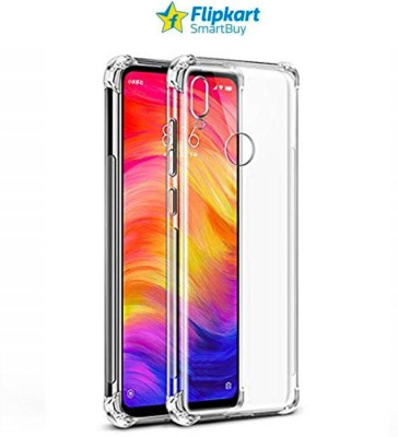Flipkart SmartBuy Back Cover for Mi Redmi Note 7, Mi Redmi Note 7 Pro, Mi Redmi Note 7S(Transparent, Camera Bump Protector, Silicon)