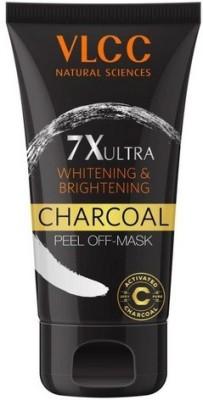 VLCC 7X Ultra Whitening & Brightening Charcoal Peel off Mask