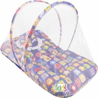 Dzirejunction Cotton Kids Unique Printed Cotton Padded Mosquito Net (Multicolour) Mosquito Net(Multicolor)