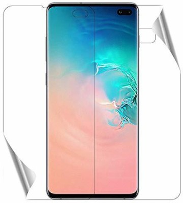 Sajni Creations Front and Back Screen Guard for Samsung Galaxy S10