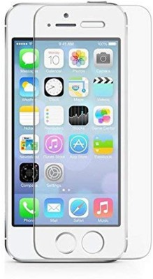 MSANSS Tempered Glass Guard for Apple iPhone 5s(Pack of 2)