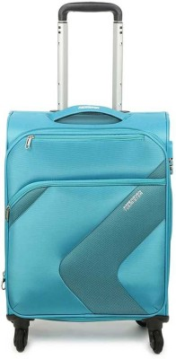 American Tourister Stanford Plus Spinner55 Cm Expandable Cabin Luggage   22 inch