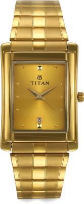 Titan NH9154YM02A Karishma Analog Watch   For Men Titan Wrist Watches