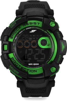 SF NH77010PP03J Sonata Fibre Digital Watch   For Men SF Wrist Watches