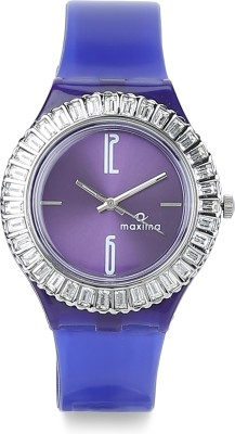 Maxima 29296PPLN Analog Purple Dial Women's Watch (29296PPLN)