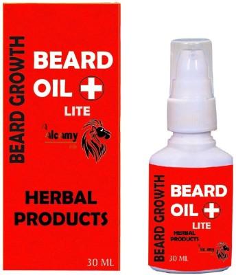 Alcamy Beard Growth Oil ( Lite ) Hair Oil(30 ml) at flipkart