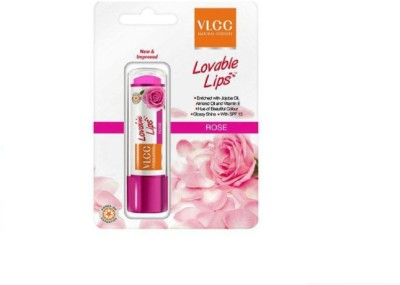 VLCC Lovable Lips Rose Lip Balm with SPF 15