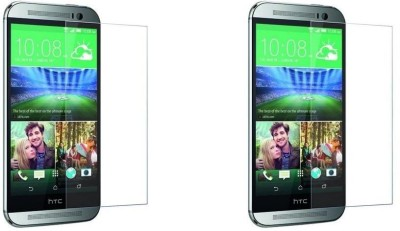 MudShi Impossible Screen Guard for HTC Desire 820Q(Pack of 2)