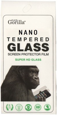 BLACK GORILLA Nano Glass for Motorola Moto E (2nd Gen) 4G(Pack of 1)