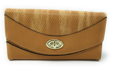 LADONNA Women Casual Brown Artificial Leather Wallet(10 Card Slots)