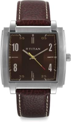 Titan NF1586SL03 Tagged Analog Watch   For Men Titan Wrist Watches