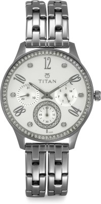 Titan 95040SM01J Analog Watch   For Women Titan Wrist Watches