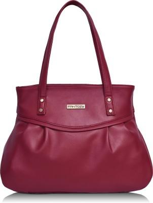 Fantosy Women Maroon Shoulder Bag Fantosy Handbags