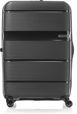 American Tourister Linex Spinner 66/24 TSA-Black Check-in Luggage – 26 inch