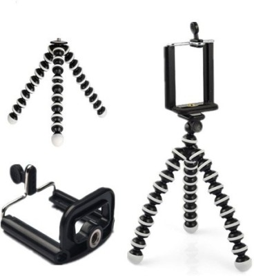 ROAR MLV_519M_Gorilla Tripod smart phones compatiable Portable tripod with bluetooth remote||360 degree tripod|| Foldable triopod|| Camera stand|| Mobile Tripod|| Camcorder tripod|| Camera mount|| Extendable tripod||Three-Dimensional Head & Quick Release Plate|| Compatible with android & IOS smart p 1