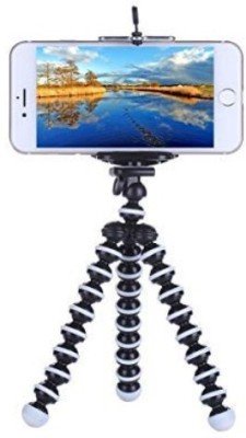 ROAR AEP_597A_Gorilla Tripod smart phones compatiable Portable tripod with bluetooth remote||360 degree tripod|| Foldable triopod|| Camera stand|| Mobile Tripod|| Camcorder tripod|| Camera mount|| Extendable tripod||Three-Dimensional Head & Quick Release Plate|| Compatible with android & IOS smart p 1